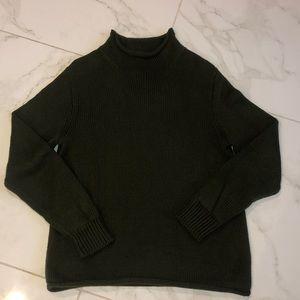 Men's J.Crew Hunter Green Rollneck Sweater